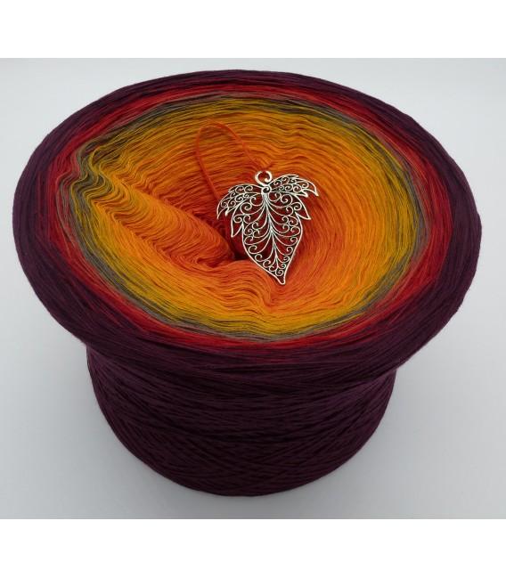 Liebe im Herbst (Love in the fall) Mega Bobbel - 4 ply gradient yarn - image 1