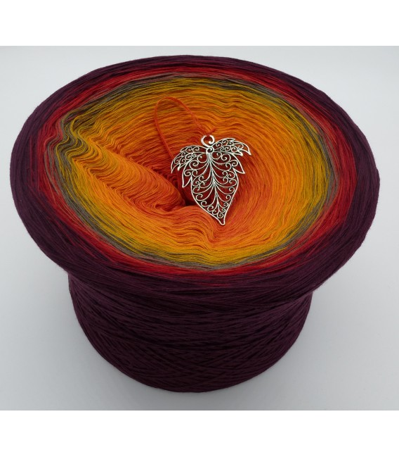 Liebe im Herbst Megabobbel - Farbverlaufsgarn 4-fädig - Bild 1