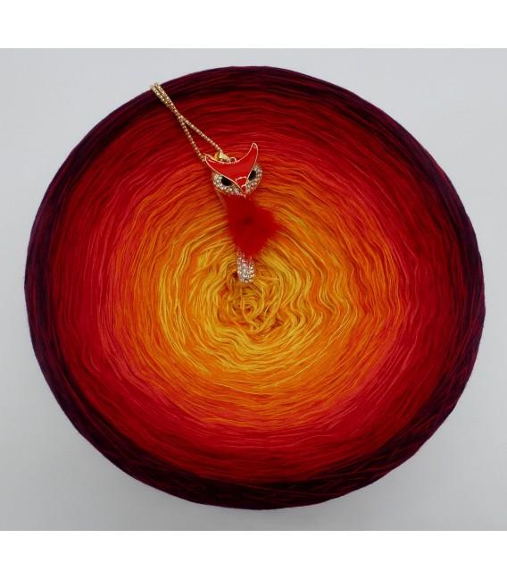 Feuervogel (Oiseau de feu) Gigantesque Bobbel - 4 fils de gradient filamenteux - photo 4