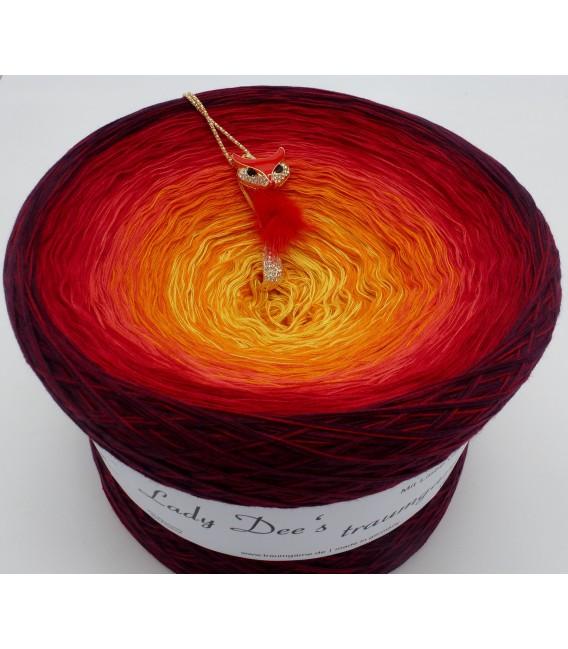 Feuervogel (Firebird) Gigantic Bobbel - 4 ply gradient yarn - image 2