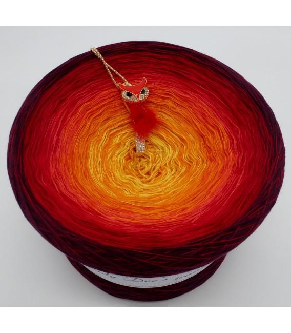 Feuervogel Gigantischer Bobbel - Farbverlaufsgarn 4-fädig - Bild 3