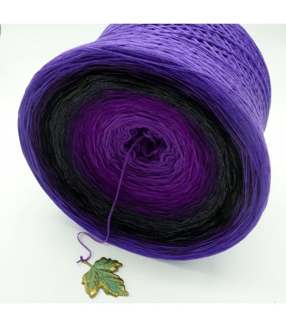 Unvergessener Traum (Unforgettable dream) Gigantic Bobbel - 4 ply gradient yarn - image 5
