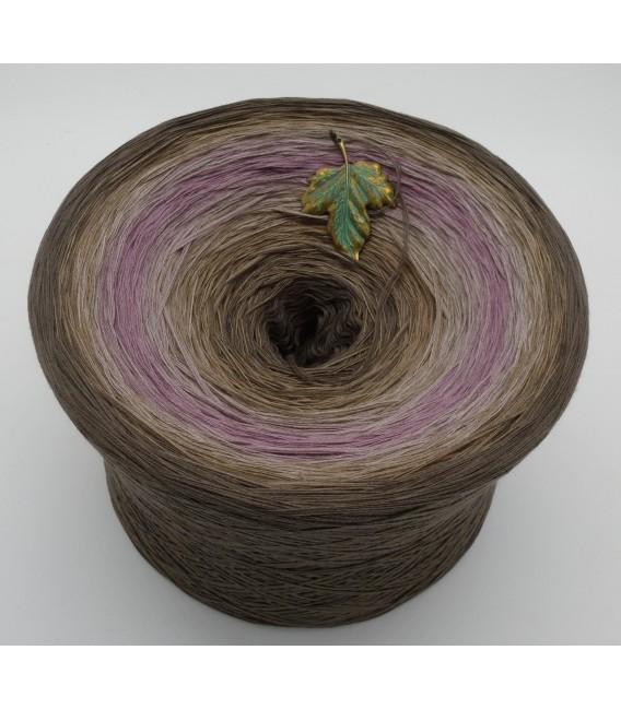 Ein Hauch Rosenholz (Une touche de bois de rose) Gigantesque Bobbel - 4 fils de gradient filamenteux - photo 2