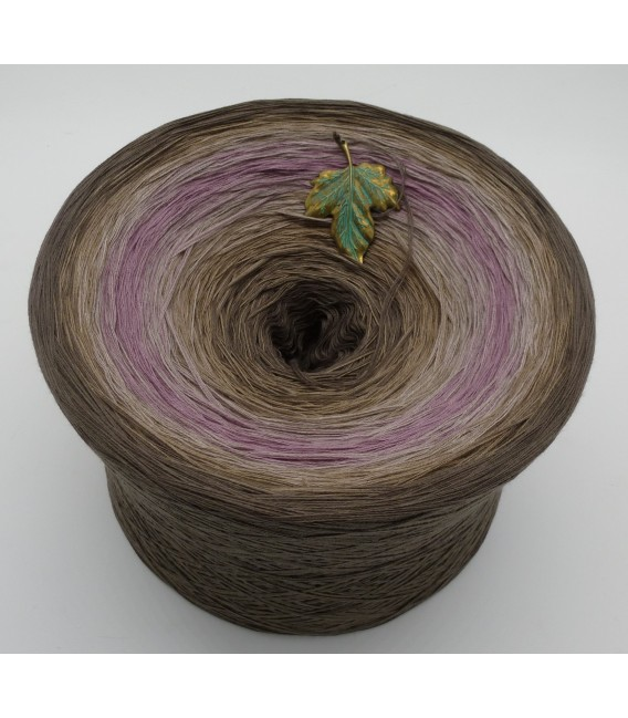Ein Hauch Rosenholz - Farbverlaufsgarn 4-fädig - Bild 2