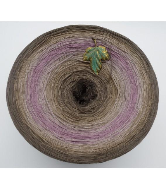 Ein Hauch Rosenholz (Une touche de bois de rose) Gigantesque Bobbel - 4 fils de gradient filamenteux - photo 3