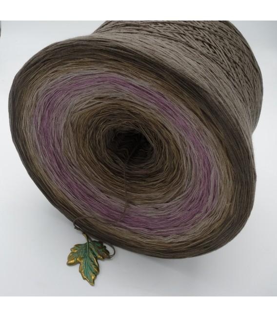Ein Hauch Rosenholz (Une touche de bois de rose) Gigantesque Bobbel - 4 fils de gradient filamenteux - photo 4
