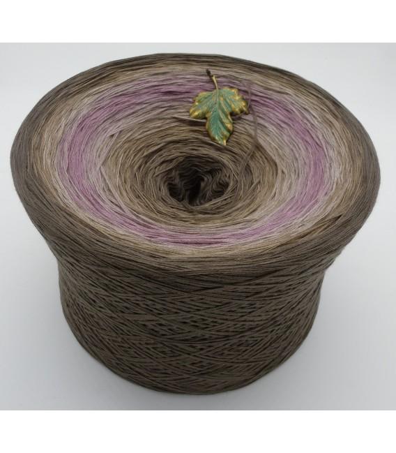 Ein Hauch Rosenholz (Une touche de bois de rose) Gigantesque Bobbel - 4 fils de gradient filamenteux - photo 1