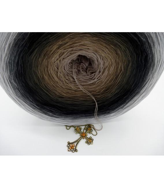 Dunkle Zeit (Темное время) Гигантский Bobbel - 4 нитевидные градиента пряжи - Фото 6