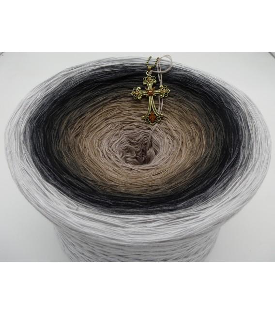 Dunkle Zeit (Темное время) Гигантский Bobbel - 4 нитевидные градиента пряжи - Фото 2