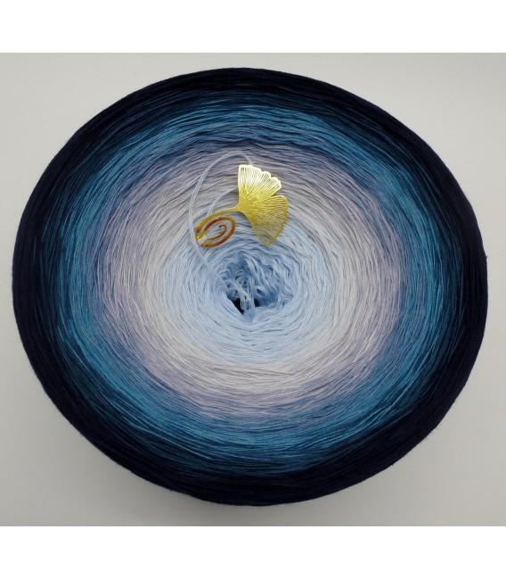 Blaue Galaxie Gigantischer Bobbel - Farbverlaufsgarn 4-fädig - Bild 2