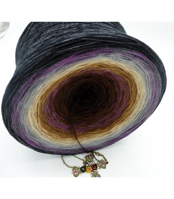 Farbkleckse im Nirgendwo (Les déversements de couleur dans nulle part) Gigantesque Bobbel - 4 fils de gradient filamenteux - pho