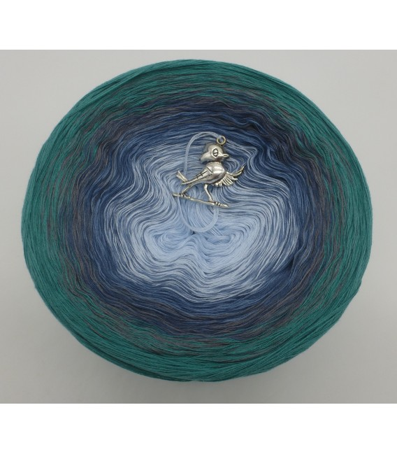 Nebelschleier (Fog veil) - 4 ply gradient yarn - image 3