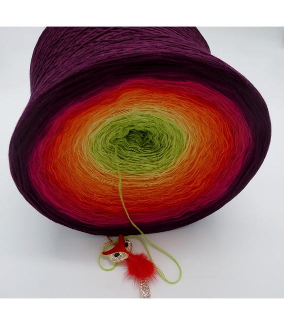 Traum der Blüten Gigantischer Bobbel - Farbverlaufsgarn 4-fädig - Bild 6
