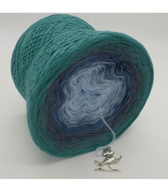 Nebelschleier (Fog veil) - 4 ply gradient yarn - image 4