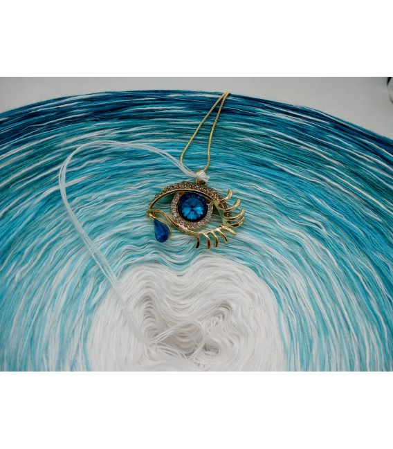 Südsee Paradies (Paradis de la mer du Sud) Gigantesque Bobbel - 4 fils de gradient filamenteux - photo 8