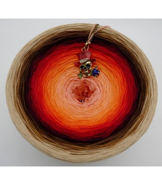 Light my Fire (Осветите мой огонь) Гигантский Bobbel - 4 нитевидные градиента пряжи - Фото 3
