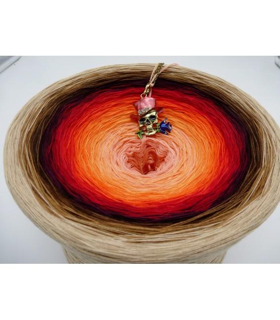 Light my Fire (Осветите мой огонь) Гигантский Bobbel - 4 нитевидные градиента пряжи - Фото 2