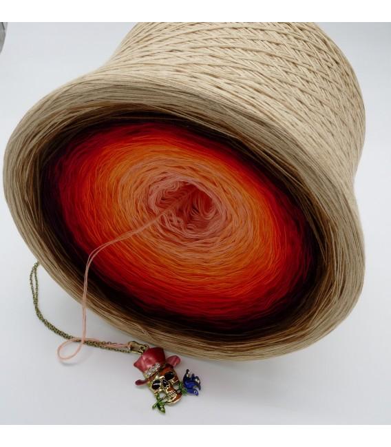 Light my Fire (Осветите мой огонь) Гигантский Bobbel - 4 нитевидные градиента пряжи - Фото 4