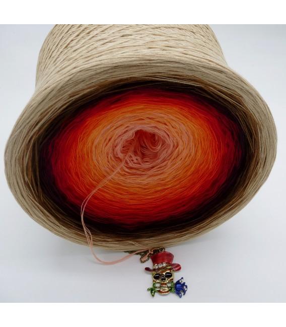 Light my Fire (Осветите мой огонь) Гигантский Bobbel - 4 нитевидные градиента пряжи - Фото 5