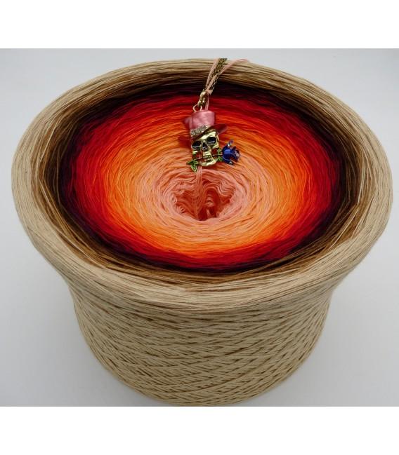 Light my Fire (Осветите мой огонь) Гигантский Bobbel - 4 нитевидные градиента пряжи - Фото 1