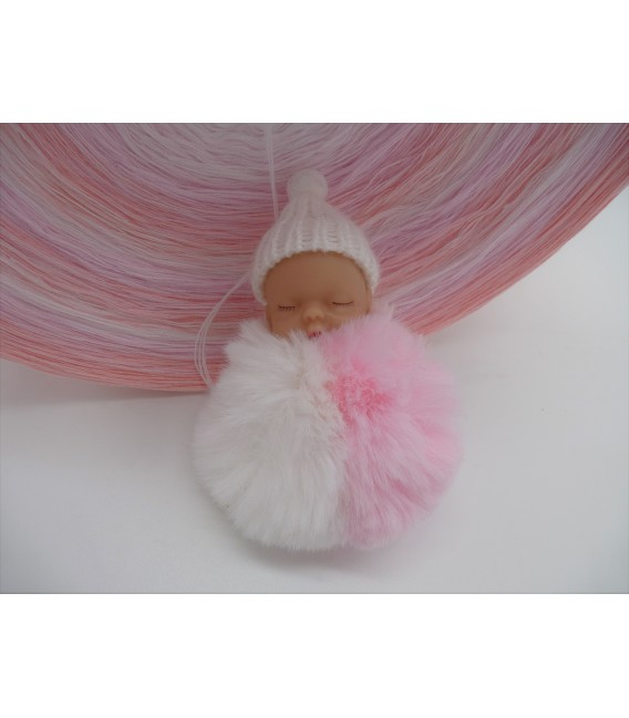 Baby Doll Gigantic Bobbel - 4 ply gradient yarn - image 6