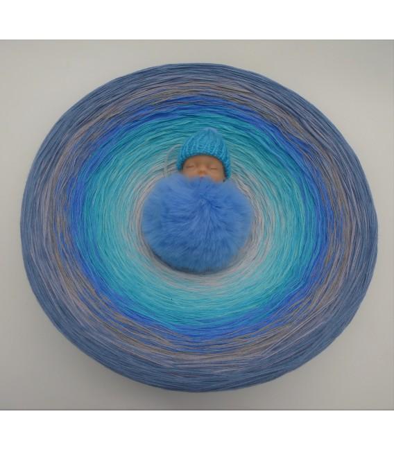 Tränen der Erinnerungen (Larmes de souvenirs) Gigantesque Bobbel - 4 fils de gradient filamenteux - photo 3