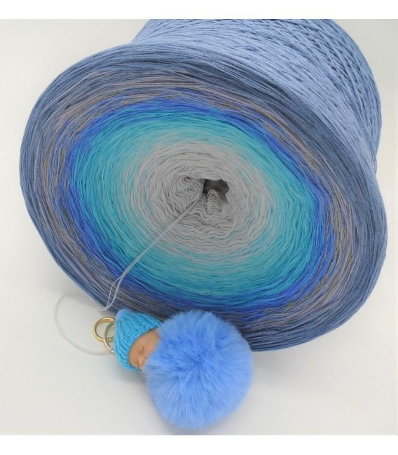 Tränen der Erinnerungen (Larmes de souvenirs) Gigantesque Bobbel - 4 fils de gradient filamenteux - photo 5