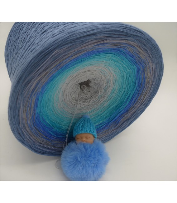 Tränen der Erinnerungen (Larmes de souvenirs) Gigantesque Bobbel - 4 fils de gradient filamenteux - photo 6