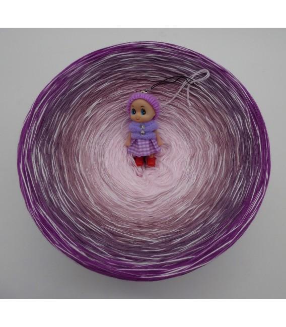 Leiser Wind (Vent calme) Gigantesque Bobbel - 4 fils de gradient filamenteux - photo 3