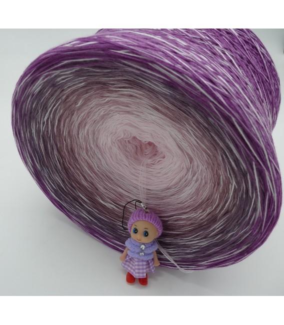 Leiser Wind (Vent calme) Gigantesque Bobbel - 4 fils de gradient filamenteux - photo 5