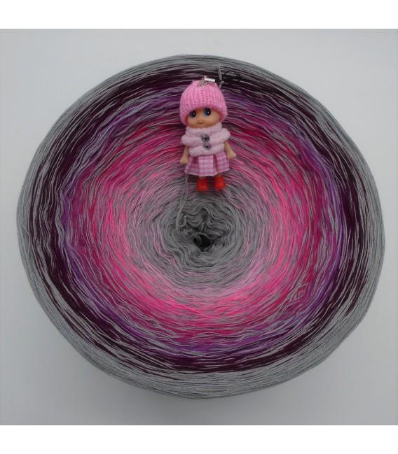 Kribbeln im Bauch Gigantischer Bobbel - Farbverlaufsgarn 4-fädig - Bild 2