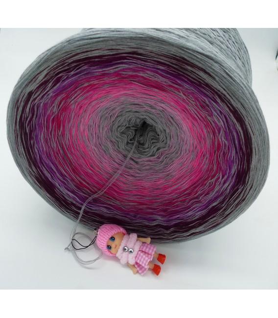 Kribbeln im Bauch Gigantischer Bobbel - Farbverlaufsgarn 4-fädig - Bild 3