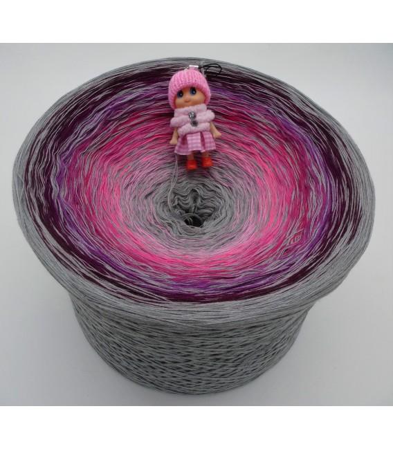 Kribbeln im Bauch Gigantischer Bobbel - Farbverlaufsgarn 4-fädig - Bild 1