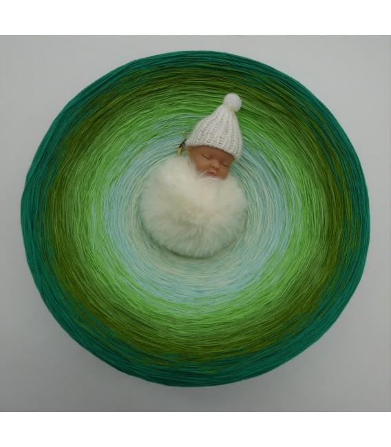 Ziergräser im Sommerwind (Ornamental grasses in the summer wind) Gigantic Bobbel - 4 ply gradient yarn - image 2