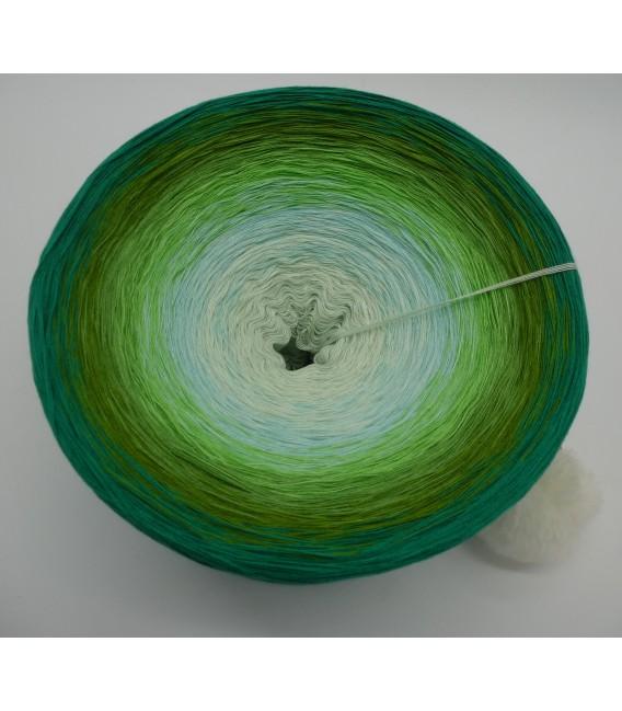 Ziergräser im Sommerwind (Graminées ornementales dans le vent d'été) Gigantesque Bobbel - 4 fils de gradient filamenteux - photo