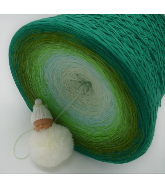 Ziergräser im Sommerwind Gigantischer Bobbel - Farbverlaufsgarn 4-fädig - Bild 4