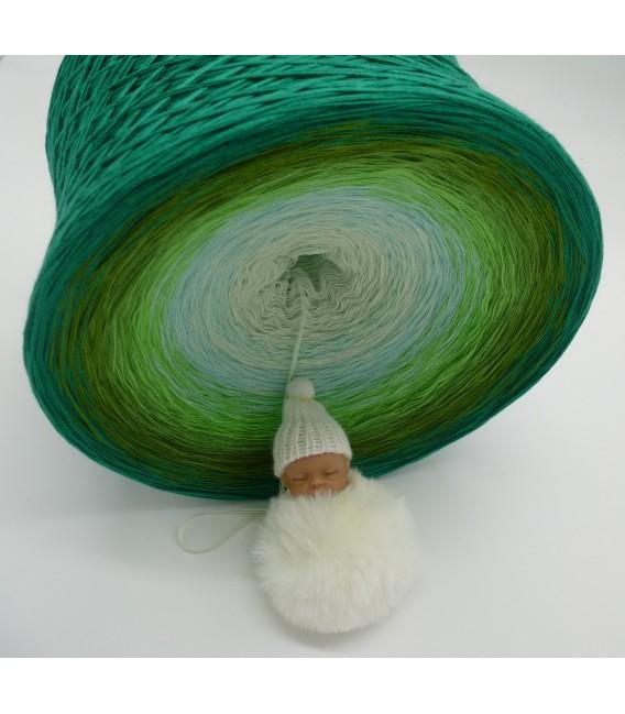 Ziergräser im Sommerwind Gigantischer Bobbel - Farbverlaufsgarn 4-fädig - Bild 5