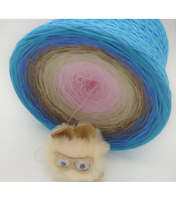 Hollyday Dream Gigantischer Bobbel - Farbverlaufsgarn 4-fädig - Bild 4