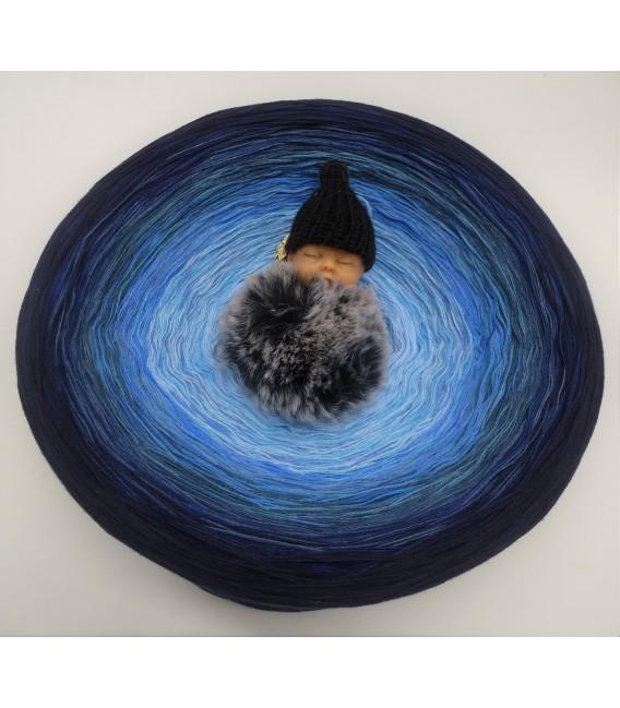 Blue Wonder Gigantesque Bobbel - 4 fils de gradient filamenteux - photo 2