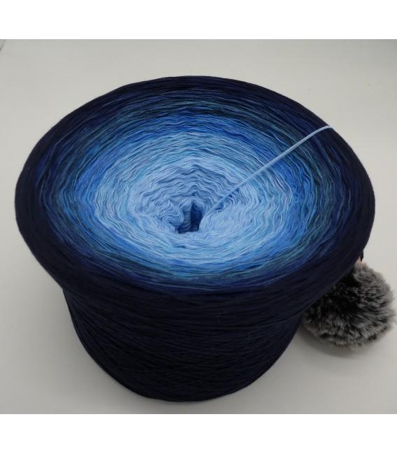 Blue Wonder Гигантский Bobbel - 4 нитевидные градиента пряжи - Фото 4