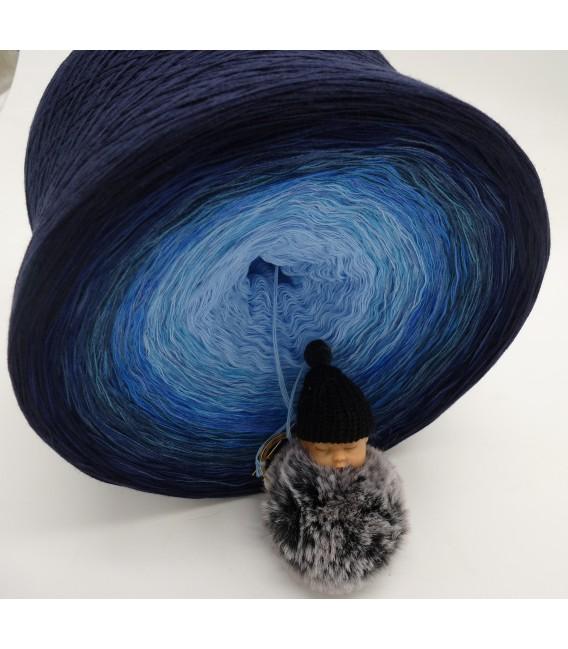 Blue Wonder Gigantesque Bobbel - 4 fils de gradient filamenteux - photo 6