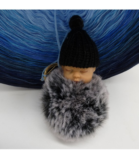 Blue Wonder Gigantischer Bobbel - Farbverlaufsgarn 4-fädig - Bild 7