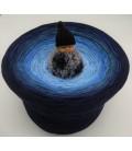 Blue Wonder Gigantischer Bobbel - Farbverlaufsgarn 4-fädig - Bild 1