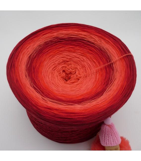 Red Roses Gigantischer Bobbel - Farbverlaufsgarn 4-fädig - Bild 3