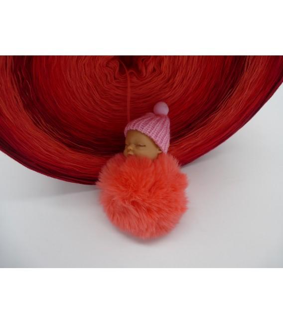 Red Roses (Красные розы) Гигантский Bobbel - 4 нитевидные градиента пряжи - Фото 7