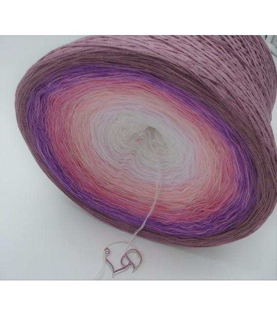 Rosenholz in Love Gigantischer Bobbel - Farbverlaufsgarn 4-fädig - Bild 3