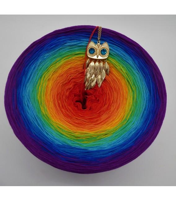 Kinder des Regenbogen Gigantischer Bobbel - Farbverlaufsgarn 4-fädig - Bild 2