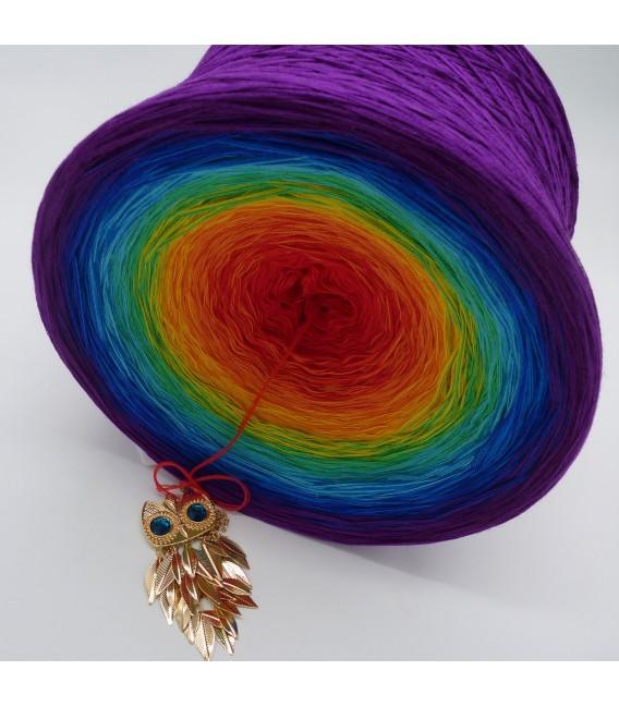 Kinder des Regenbogen Gigantischer Bobbel - Farbverlaufsgarn 4-fädig - Bild 3