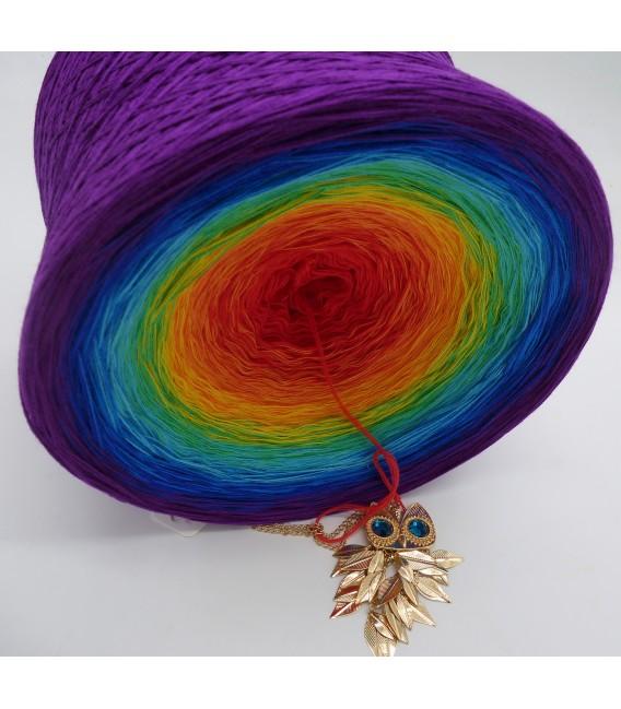 Kinder des Regenbogen Gigantischer Bobbel - Farbverlaufsgarn 4-fädig - Bild 4