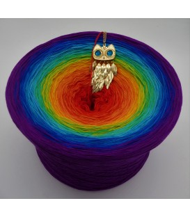 Kinder des Regenbogen Gigantischer Bobbel - Farbverlaufsgarn 4-fädig - Bild 1